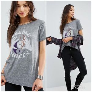 🆕 NWT Free People Needle Points Polly T Shirt